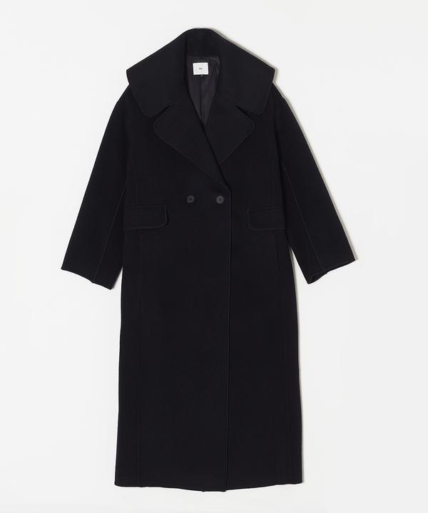 Sov.DOUBLE STANDARD CLOTHING /ウールダブルフェイスコート