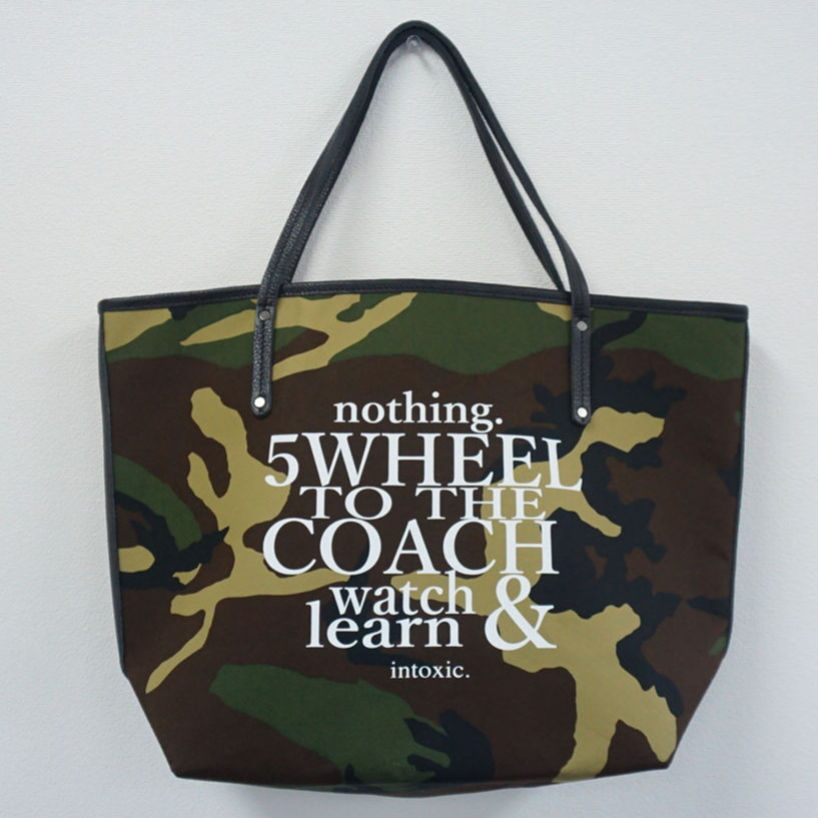 intoxic./holiday tote L camouflage logotip